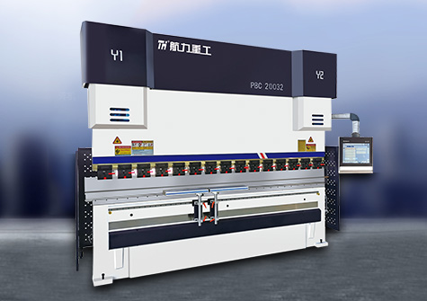 WE67K series electro-hydraulic servo CNC hydraulic sheet metal bending machine